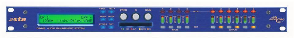 XTA DP446 Audio Management System 4 in/6 out