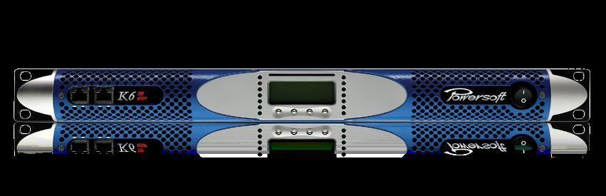 Powersoft K6 Förstärkare med DSP+AESOP