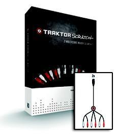 TRAKTOR Scratch Mixer Segments cable x2