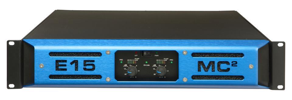 850W channel stereo amplifier