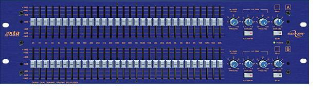 XTA GQ600 Dual Channel Graphic Equaliser