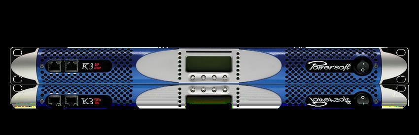 Powersoft K3 Förstärkare med DSP+AESOP