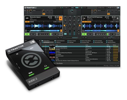 Native Instruments Traktor Audio 2 MK2 DJ-interface (23770)