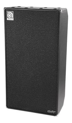 Ampeg Heritage SVT810E Bass Cabinet Classic black 8x10