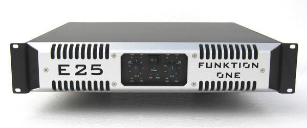 FunktionOne E25 Amp 1250W/4ohm