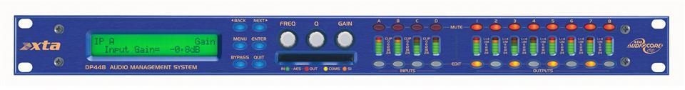 XTA DP448 Audio Management System 4 in/ 8 out