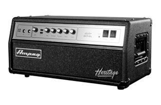 Ampeg Heritage SVTCL Bass Head classic 300W all tube