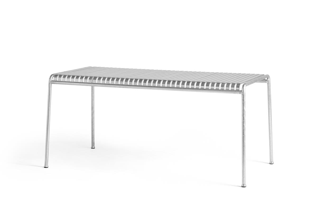 Palissade Table Large - Hot Galvanised