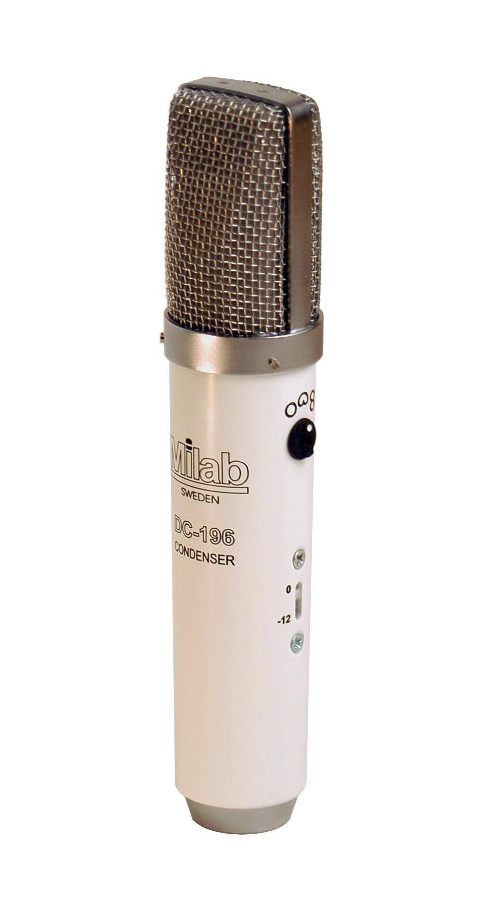 MILAB Hvit kondensatormikrofon multikarakteristikk (1133)