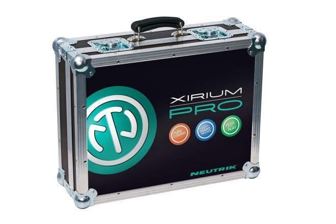 Neutrik Xirium Pro Case Set uten innhold