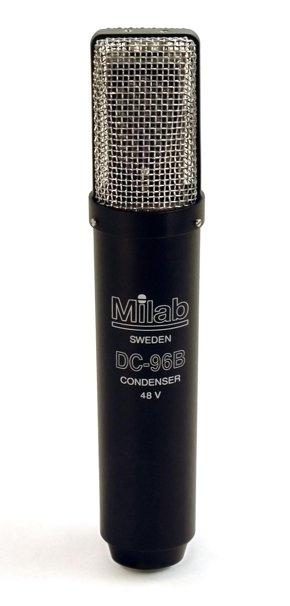 MILAB kondensator mik kardioide sort lakkert