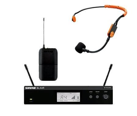Shure BLX14R headset system med SM31FH Headset