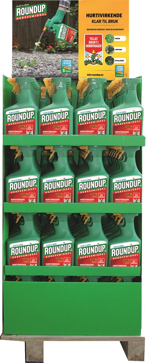 Round Up 1 liter m/pa display