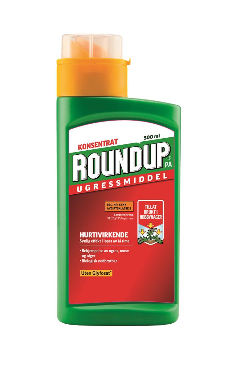 Round Up 500 ml konsentrat m/pa