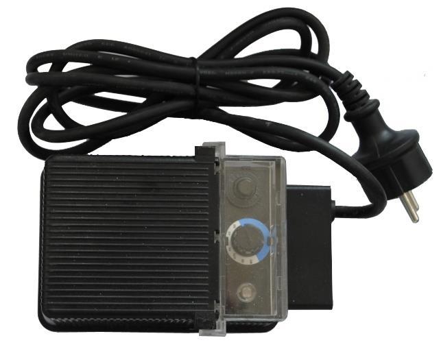Transformator 230v til 12v med Fotocelle og timer