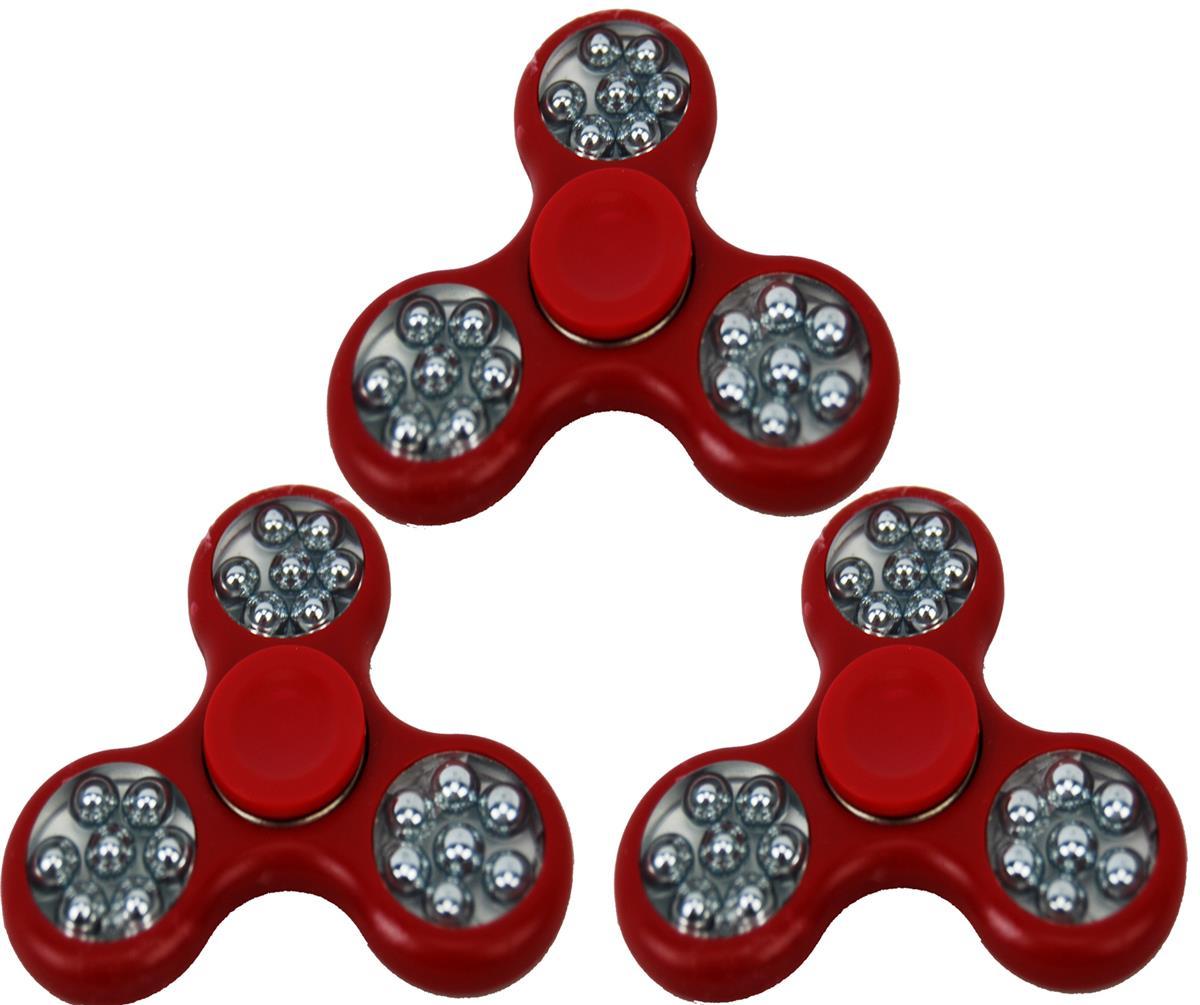 HåndSpinner 3 stk. Rød