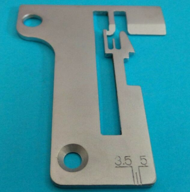Needle Plate. For Pfaff 756. For Singer Serger Machine Models 14U23, 14U234, 14U234B, 14U286, 14U286B, 14U34(14U34B), 14U344, 14U344B, 14U354, 14U354B, 14U44, 14U444, 14U444B, 14U454, 14U454B, 14U46, 14U46B, 14U64, 14U64A, PRO4D  • Alternate Part Numbers: 93-414127-30