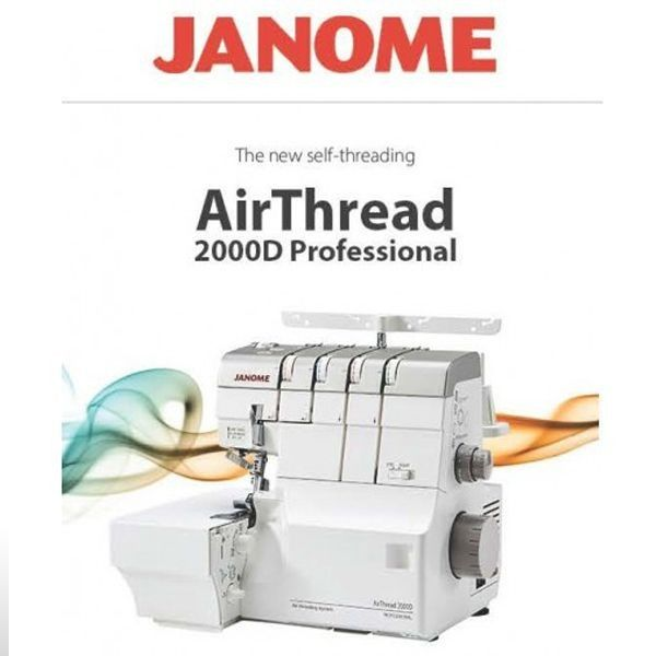 JANOME OVERLOCK AIR THREADING 2000D