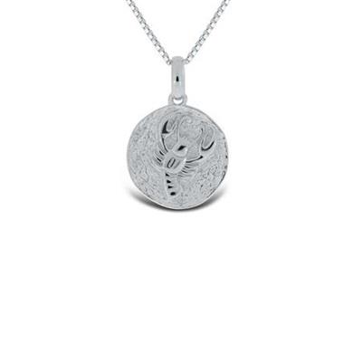 Krepsen Lykketegn i sølv 22.juni-23.juli 45cm