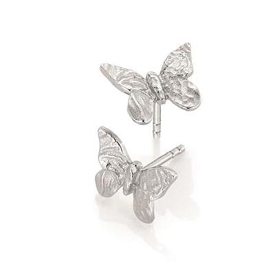 Sommerfugl ørepynt i sølv