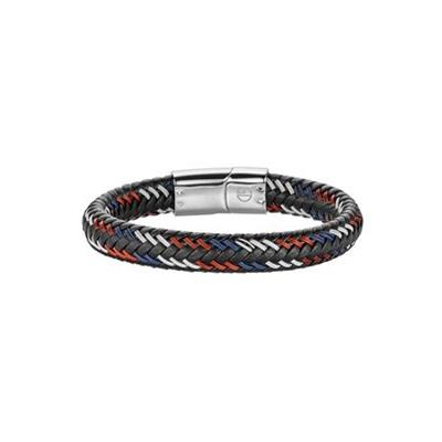 Skinnrmbånd med stållås 21,5cm