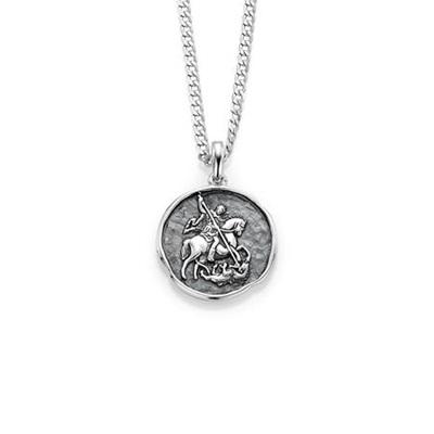 Ridder anheng i sølv med 50cm kjede,Ord. pris: 995,-