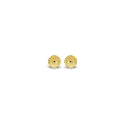 Ørepynt i gull 585, 5mm