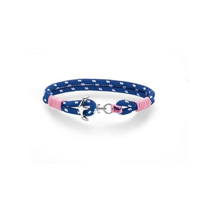 BARN Armbånd blå/rosa 16,5cm