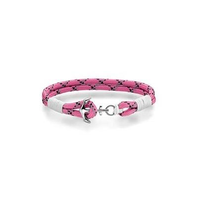 BARN Armbånd rosa/hvit 16,5cm