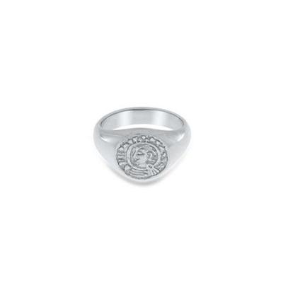 Lykkemynt Ring i sølv