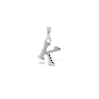 Anheng i sølv - K - leveres uten kjede