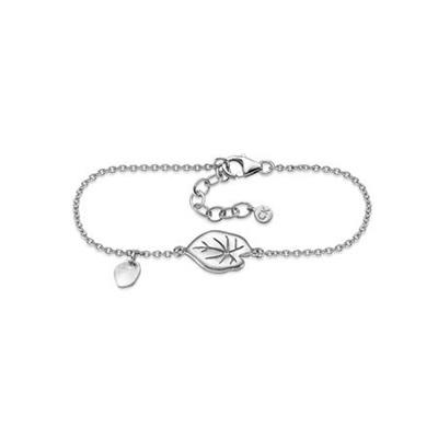 Vannliljeblad Armbånd i sølv 17,5+3cm