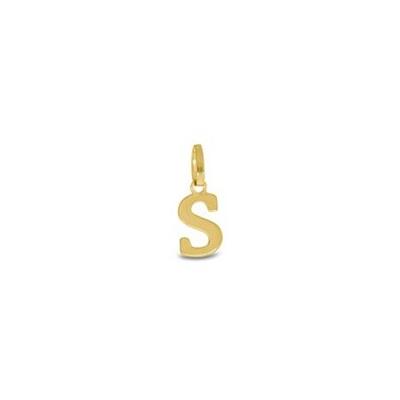 Gullbokstav - S - leveres uten kjede