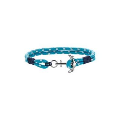 armbånd turkis/ blå 18 cm