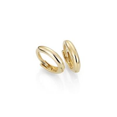 GD 1370 Pisa øreringer i gull