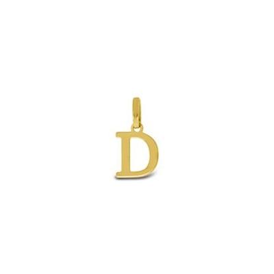Gullbokstav - D - leveres uten kjede