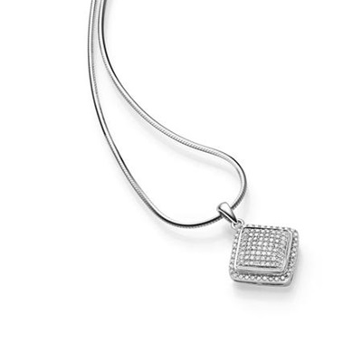 GD 100Diamonds DESIREE hv.gull anheng m/diamant 0,30 ct W/SI