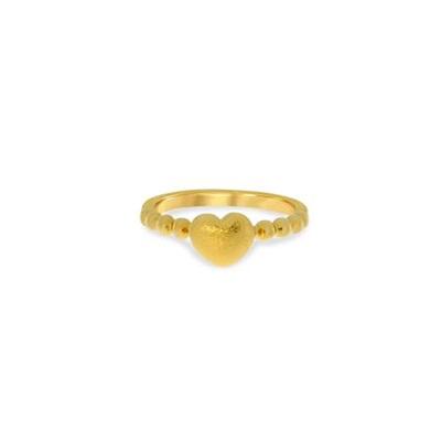 Arendal Forgylt ring i sølv