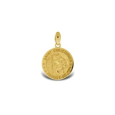 Mynt anheng i gull - leveres uten kjede