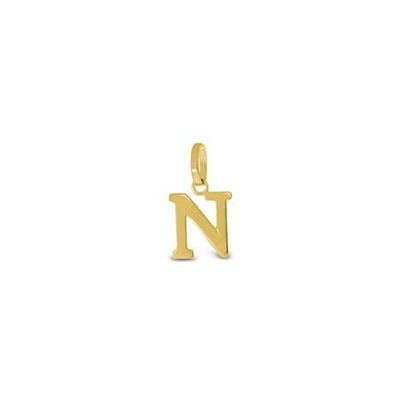 Gullbokstav - N - leveres uten kjede