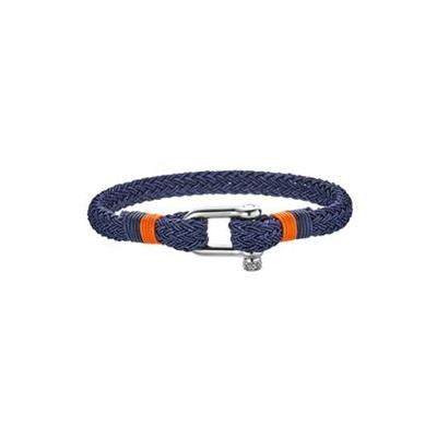 armbånd blå/rød 20,5 cm