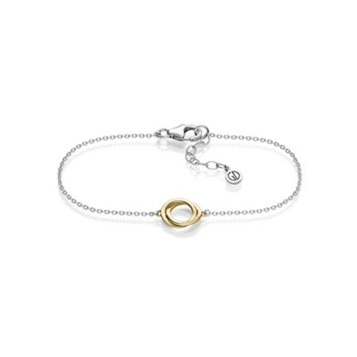 Oslo gull armbånd 17,5+2,5 cm
