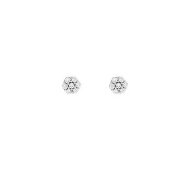 sølv ørepynt med zirkonia