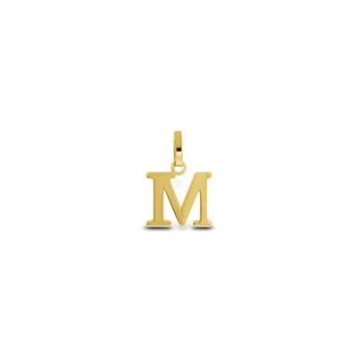 Gullbokstav - M - leveres uten kjede