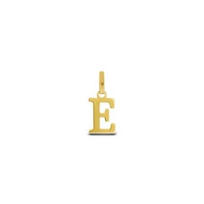 Gullbokstav - E - leveres uten kjede