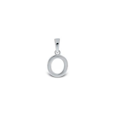 Anheng i sølv - O - leveres uten kjede