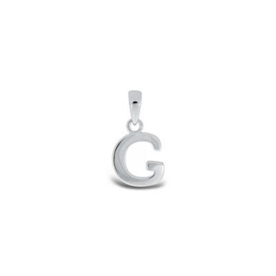 Anheng i sølv - G - leveres uten kjede