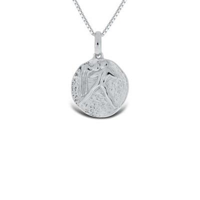 Vannmannen Lykketegn i sølv 20.januar-19.feb 45cm