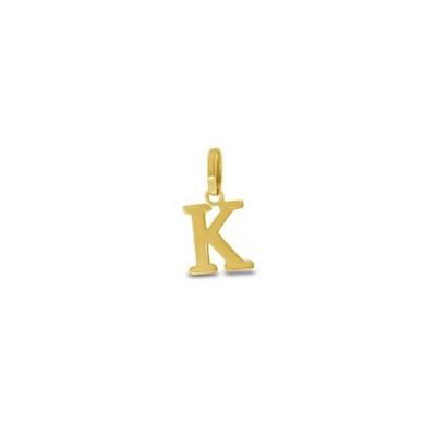 Gullbokstav - K - leveres uten kjede