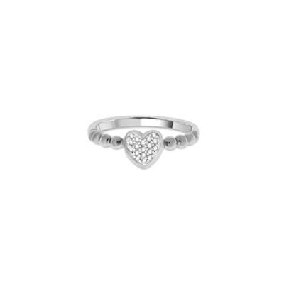 Aurora Ring i sølv med zirkonia